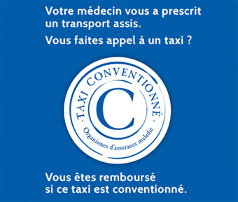 Taxi conventionné à Garches